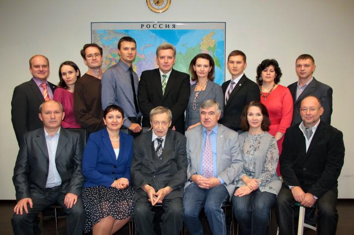 Последний педагогический совет с участием профессора В.Л. Андрианова (28.10.2013)