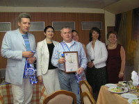 вручение диплома Неборскому Сергею Анатольевичу