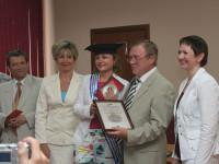 Диплом вручается Попович Наталье Юрьевне
